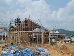 진천29평 일본식 주택 골조공사 …
